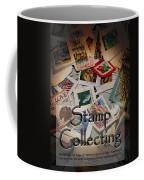 Stamp Colleting Coffee Mug