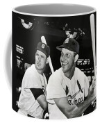 Stan Musial And Ted Williams Coffee Mug