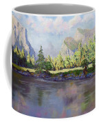 Standing Guard Over Yosemite Valley Coffee Mug