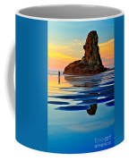 Standing In A Sea Of Blue Coffee Mug
