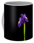 Standing Iris Coffee Mug