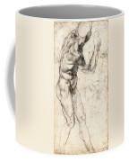 Standing Male Nude Coffee Mug
