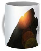 Standing Stone At Gardom's Edge Coffee Mug
