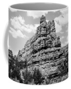Standing Tall In Black And White Coffee Mug by Denise Bird
