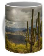 Standing Tall In The Sonoran Desert  Coffee Mug