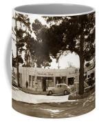Stanifords Drug Store Ocean Ave.cor San Carlos Carmel Circa 1941 Coffee Mug