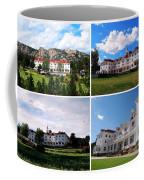 Stanley Hotel In Estes Park Colorado Collage Coffee Mug