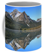 Stanley Lake Sawtooth Mountains Coffee Mug