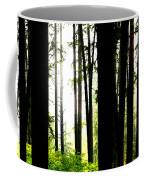 Stanley Park Triptych Right Coffee Mug