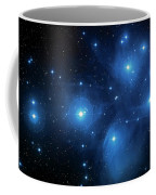 Star Cluster Pleiades Seven Sisters Coffee Mug by Jennifer Rondinelli Reilly - Fine Art Photography