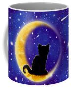 Star Gazing Cat Coffee Mug
