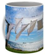Star Island Clothesline Coffee Mug