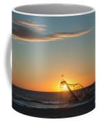 Star Jet Sunrise Silhouettte Coffee Mug