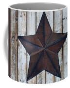 Star On Barn Wall Coffee Mug