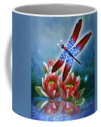 Star Spangled Dragonfly Coffee Mug