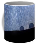 Star Trails Above Keck Coffee Mug