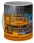 Star Trails Over The Rialto Coffee Mug