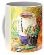 Starbucks Mug And Easter Cupcake Coffee Mug
