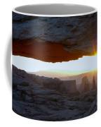 Starburst At Mesa Arch Coffee Mug