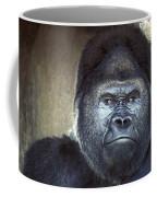 Stare-down - Gorilla Style Coffee Mug