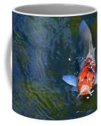 Stare Down With A Koi Coffee Mug