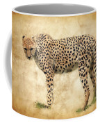 Stare Of The Cheetah Coffee Mug