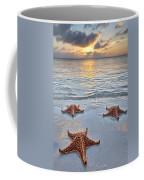 Starfish Beach Sunset Coffee Mug