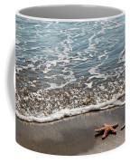 Starfish Catching The Waves Coffee Mug
