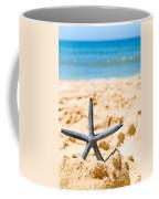Starfish On Algarve Beach Portugal Coffee Mug