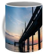 Staring At The Sun - Sunrise On The Beach Coffee Mug