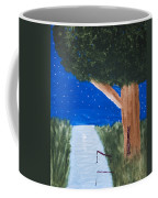 Starlight Fishing Coffee Mug by Melissa Dawn
