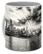 Starlight Over The American Airlines Arena Coffee Mug