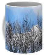 Starlings In The Cottonwoods Coffee Mug