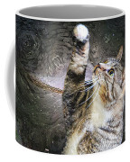 Starry Night Kitty Style - Featured  In Comfortable Art Group Coffee Mug