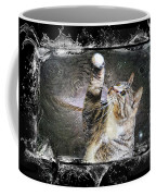 Starry Night Kitty Style Splash Coffee Mug