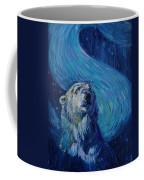 Starry Night Van Gogh Bear Coffee Mug