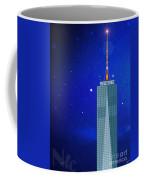 Starry Nights - Wtc One Coffee Mug