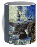 Starry Hook Head Lighthouse Coffee Mug