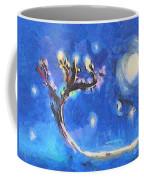 Starry Tree Coffee Mug by Pixel  Chimp