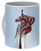 Stars And Stripes And 1 W T  C Coffee Mug