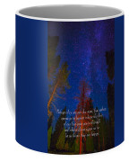Stars Light Star Bright Fine Art Photography Prints And Inspirational Note Cards Coffee Mug
