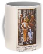 Stars Wars Autographed Movie Poster Coffee Mug