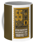Starschips 55-poststamp -discovery One Coffee Mug by Chungkong Art