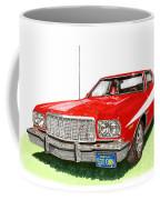 Starsky Hutch 1974 Ford Gran Torino Sport Coffee Mug