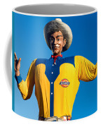 State Fair Of Texas Big Tex Yellow Coffee Mug