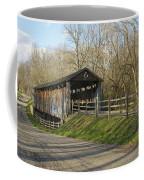 State Line Or Bebb Park Covered Bridge Coffee Mug