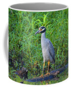 Stately Heron Coffee Mug