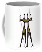 statuary - landmark of Brasilia city Coffee Mug
