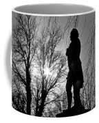 Statue At Dusk Coffee Mug