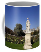 Statue At The Jardin Des Tuileries In Paris France Coffee Mug